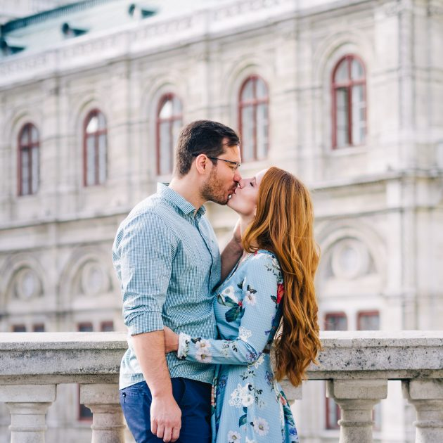 Vienna Vacation Couple Session Opera