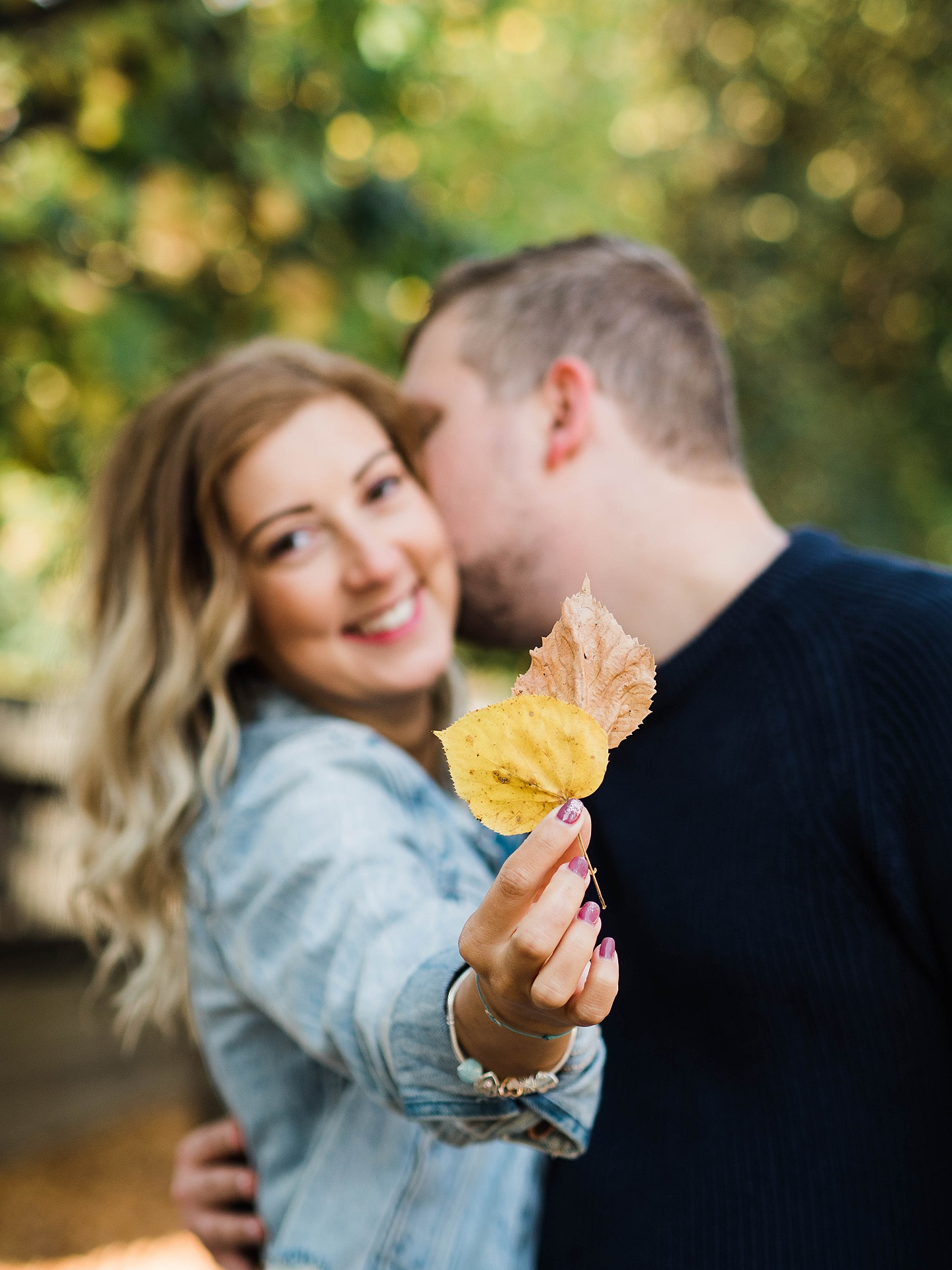 Fall Engagement Session Vienna Couple photo