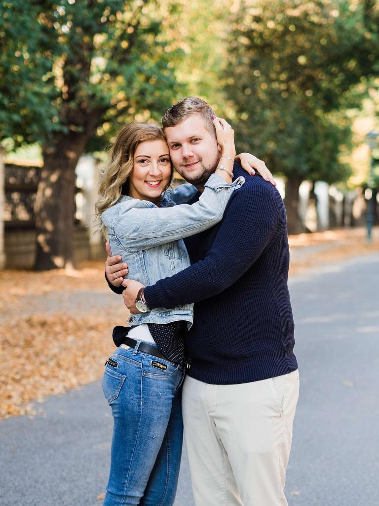 Couple Photo Session in Schönbrunn Vienna