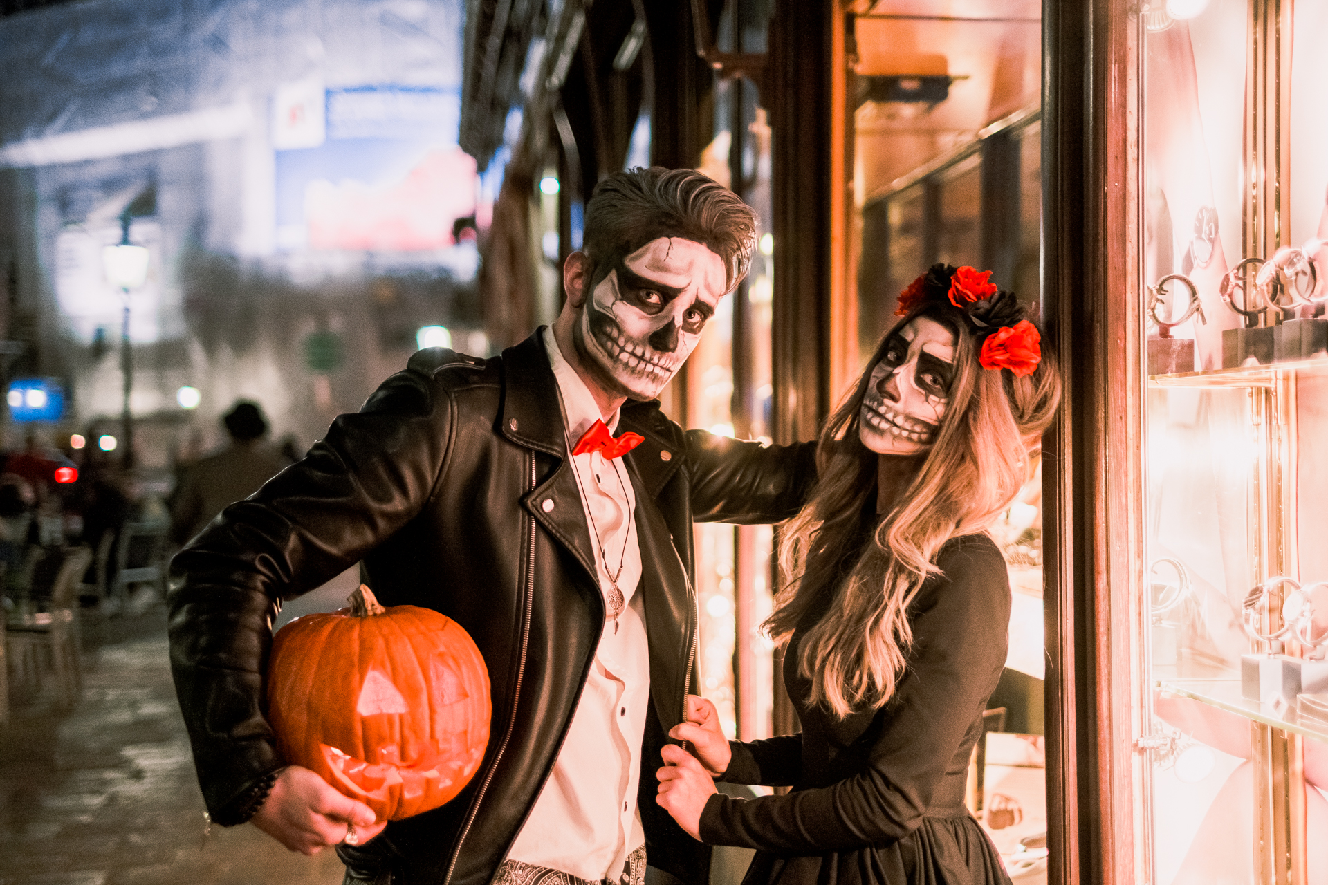 Vienna Halloween Shooting by Virag Horvath