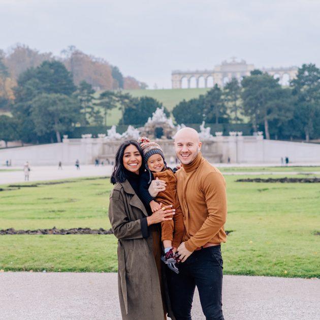 Family Shooting in Schönbrunn
